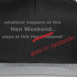 Black Hen Weekend Women's Tees - Snapback Cap