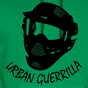 Paintball - urban guerrilla - Männer Premium Hoodie