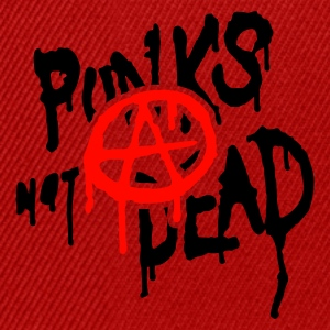 Red punks not dead T-Shirts - Snapback Cap