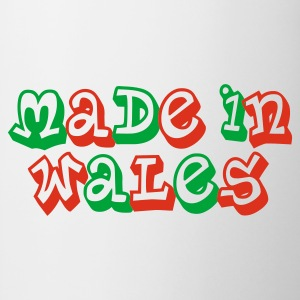 Made in Wales Ladies T-Shirt White - Mug