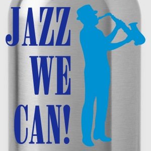 jazz_we_can_2c T-shirts - Vattenflaska