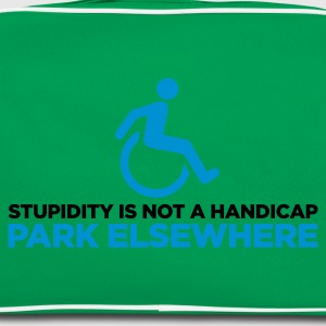 Stupidity is not a Handicap 2 (ENG, 2c) - Retro veske