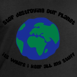 Stop destroying our planet (3c, ENG) - Felpa da uomo di Stanley & Stella