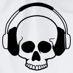Wit Skull headphones T-shirts - Gymtas