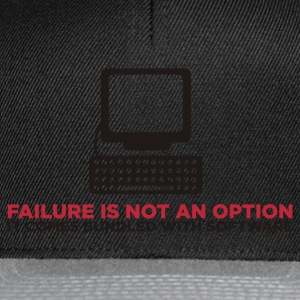 Failure is not an Option (ENG, 2c) - Casquette snapback
