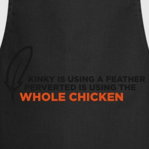 Kinky Feather 1 (ENG, 2c) - Tablier de cuisine