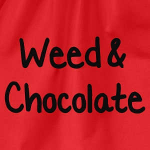 Red Weed and Chocolate Women's Tees - Drawstring Bag