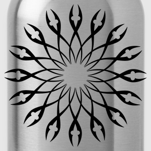 Tribal Design 04 - Water Bottle