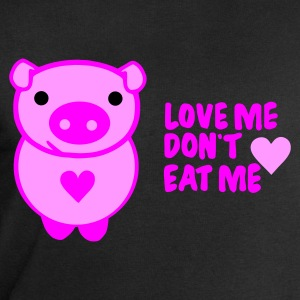 Schwarz love! dont eat T-Shirts - Men's Sweatshirt by Stanley & Stella