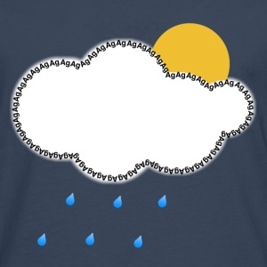 Sky Every Cloud has a Silver Lining Men's T-Shirts - Men's Premium Longsleeve Shirt