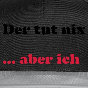 Chocolate Der tut nix/was T-Shirts - Snapback Cap