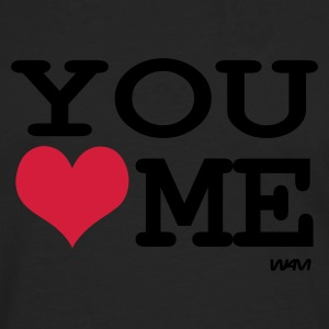 Negro you love me by wam Camisetas - Camiseta de manga larga premium hombre