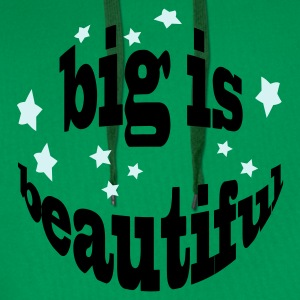 big is beautiful - Männer Premium Hoodie