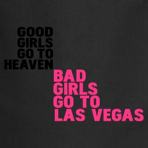 Noir bad girls go to las vegas T-shirts - Tablier de cuisine