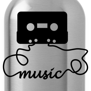 tape music - Trinkflasche
