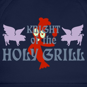 Indigo Knight of the holy grill (Txt, 2c) T-shirts - Casquette classique