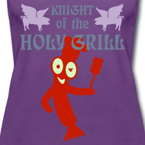 Indigo Knight of the holy grill (Txt, 2c) T-shirts - Débardeur Premium Femme
