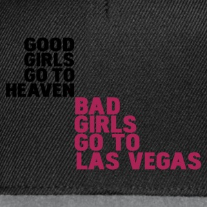 Zwart bad girls go to las vegas T-shirts - Snapback cap
