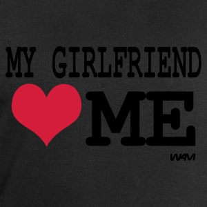 Svart my girlfriend loves me by wam T-skjorter - Sweatshirts for menn fra Stanley & Stella