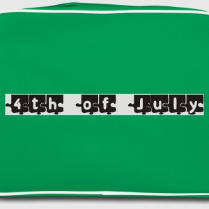 4th of july puzzle T-shirts - Retro Bag