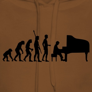 Gelb evolution_pianist T-Shirts - Frauen Premium Hoodie