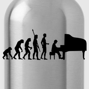 Gelb evolution_pianist T-Shirts - Trinkflasche