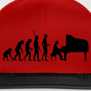 evolution_pianist Tee shirts - Casquette snapback