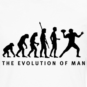 evolution_football_b_1c T-Shirts - Men's Premium Longsleeve Shirt