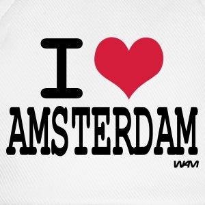 cappelli berretti i love amsterdam spreadshirt. Black Bedroom Furniture Sets. Home Design Ideas