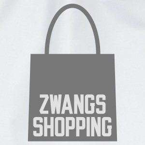 Weiß Zwangs Shopping © T-Shirts - Gymnastikpåse
