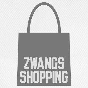 Weiß Zwangs Shopping © T-Shirts - Cappello con visiera