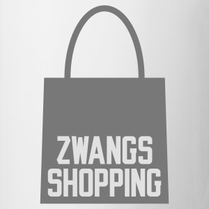 Weiß Zwangs Shopping © T-Shirts - Kubek