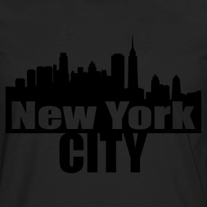 Chocolat nyc NEW YORK CITY T-shirts - T-shirt manches longues Premium Homme