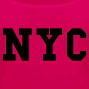 Rosa nyc - new york city T-skjorter - Premium singlet for kvinner