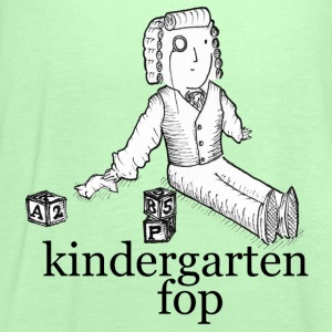 kindergarten fop - men's t-shirt - Women's Tank Top by Bella