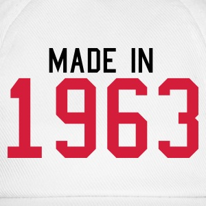 White 1963 Women's Tees - Baseball Cap