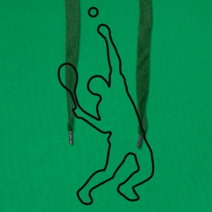Grass green tennis Women's T-Shirts - Men's Premium Hoodie