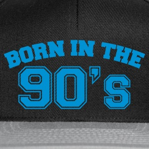 Chocolate Born in the 90s T-Shirts - Snapback Cap