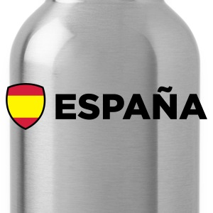 Red Spain Emblem Side 1 (3c, NEU) Women's T-Shirts - Water Bottle