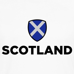 White Scotland Emblem Small (3c, NEU) Women's T-Shirts - Men's Premium Longsleeve Shirt