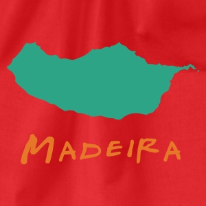 Madeira Island Men's Tees (short-sleeved) - Drawstring Bag