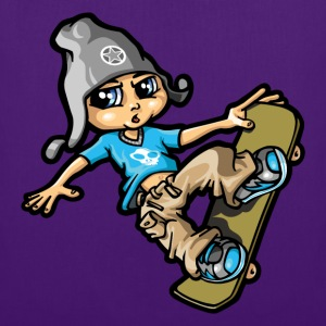 bboy and skate - Tote Bag