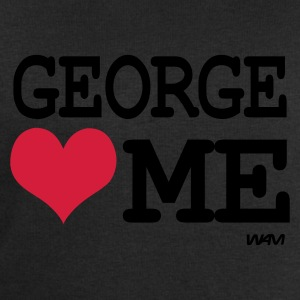 Noir george loves me by wam T-shirts - Sweat-shirt Homme Stanley & Stella