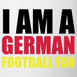 Weiß I am a german football fan © T-Shirts - Tazza