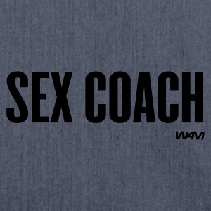 Navy sex coach by wam Women's T-Shirts - Shoulder Bag made from recycled material