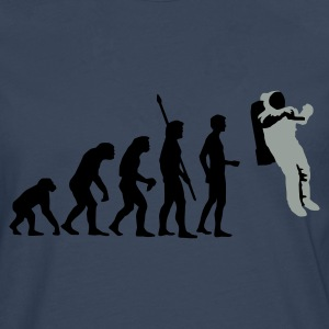 evolution_astronaut_2c T-Shirts - Men's Premium Longsleeve Shirt