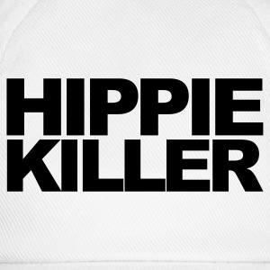 Bianco Hippie Killer T-shirt - Cappello con visiera