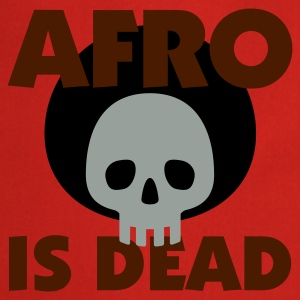 Gelb Afro is dead © T-Shirts - Tablier de cuisine