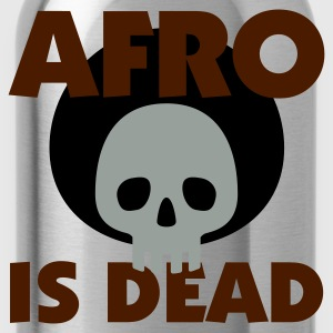 Gelb Afro is dead © T-Shirts - Water Bottle