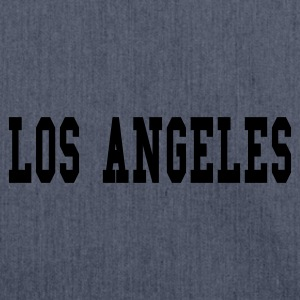 Navy los angeles T-shirts - Schoudertas van gerecycled materiaal